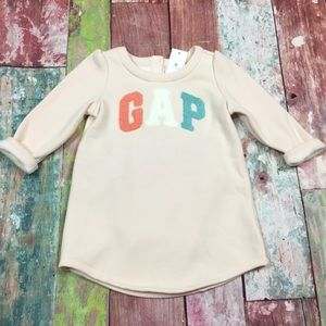 Gap Girls 6-12 12-18 Month Pink Dress & Bloomers